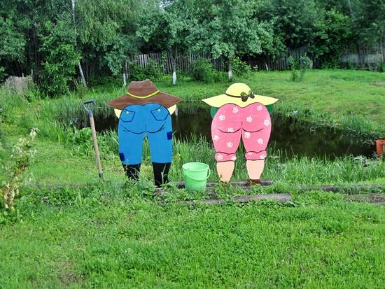 Поделки для огорода из фанеры своими руками фото