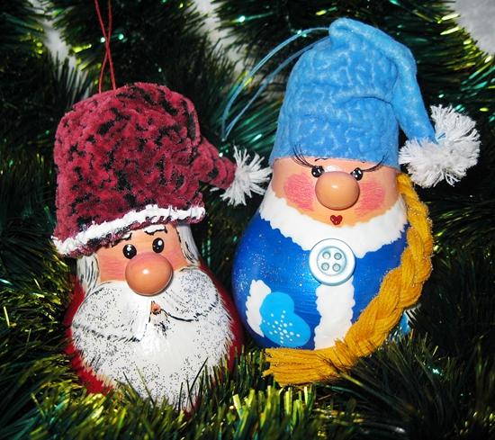Лампочки на новый год своими руками фото 963